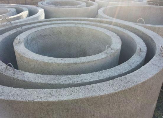 Бетонные армированные кольца