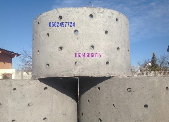 Кольца дренажные из армированного бетона